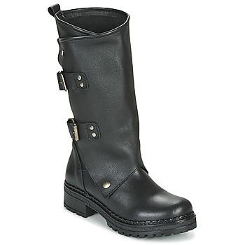 Topánky Ženy Čižmy do mesta Musse & Cloud MARVIN Čierna
