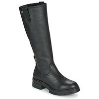 Topánky Ženy Čižmy do mesta Musse & Cloud GEORGETE Čierna