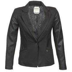 Oblečenie Ženy Saká a blejzre Kaporal SOMA Čierna