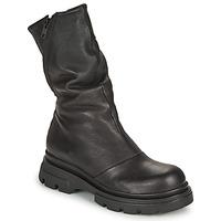 Topánky Ženy Čižmy do mesta Papucei LUZ Čierna