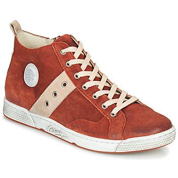 Topánky Muži Členkové tenisky Pataugas JAGGER/CR H4F Červená tehlová