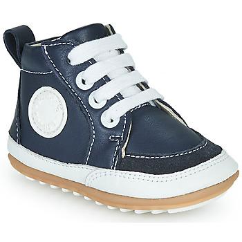 Topánky Deti Členkové tenisky Robeez MIGO Námornícka modrá