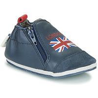Topánky Deti Papuče Robeez LONDON FLAG Námornícka modrá
