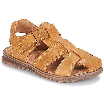 Topánky Chlapci Sandále Citrouille et Compagnie MELTOUNE žltá horčicová