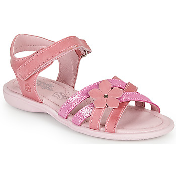 Topánky Dievčatá Sandále Citrouille et Compagnie BELDAF Fuksiová