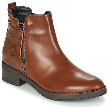 Topánky Ženy Polokozačky Xti 44721 Hnedá