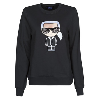 Oblečenie Ženy Mikiny Karl Lagerfeld IKONIK KARL SWEATSHIRT Čierna