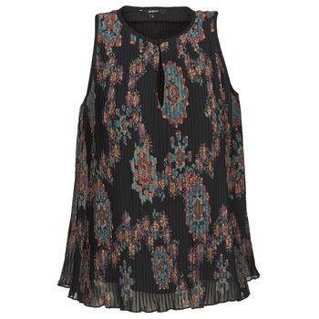 Oblečenie Ženy Tielka a tričká bez rukávov Desigual MIRA Modrá