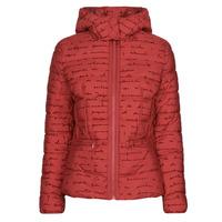Oblečenie Ženy Vyteplené bundy Desigual NATASHA Červená
