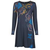 Oblečenie Ženy Krátke šaty Desigual WASHINTONG Modrá