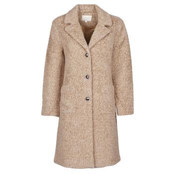 Oblečenie Ženy Kabáty Cream AMELIA COAT Béžová