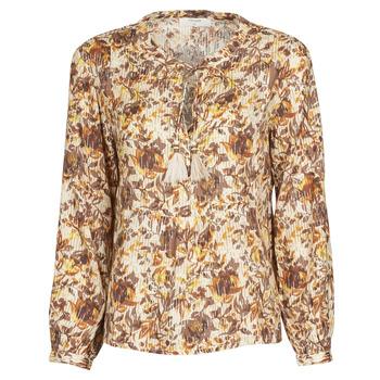 Oblečenie Ženy Blúzky Cream AUGUSTA BLOUSE Viacfarebná