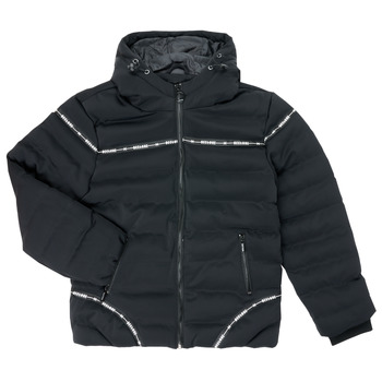 Oblečenie Chlapci Vyteplené bundy Deeluxe HOLYSON Čierna
