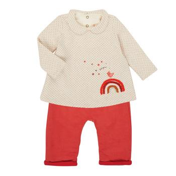 Oblečenie Dievčatá Komplety a súpravy Catimini CR36031-60 Ružová