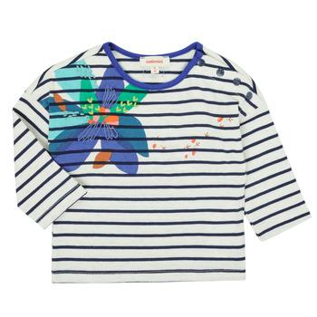 Oblečenie Dievčatá Tričká s dlhým rukávom Catimini CR10123-12 Viacfarebná