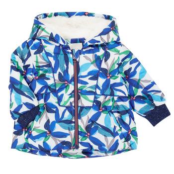 Oblečenie Dievčatá Parky Catimini CR42053-88 Viacfarebná