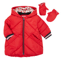Oblečenie Dievčatá Vyteplené bundy Catimini CR42013-38 Červená