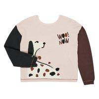 Oblečenie Dievčatá Svetre Catimini CR18115-34-J Viacfarebná