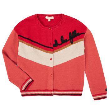Oblečenie Dievčatá Cardigany Catimini CR18015-67-C Viacfarebná