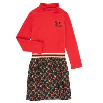 Oblečenie Dievčatá Krátke šaty Catimini CR30035-38-C Viacfarebná