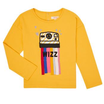 Oblečenie Dievčatá Tričká s dlhým rukávom Catimini CR10135-72-C Žltá