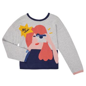 Oblečenie Dievčatá Cardigany Catimini CR18055-21-C Viacfarebná