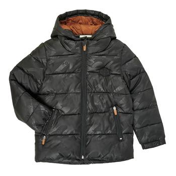 Oblečenie Chlapci Vyteplené bundy Catimini CR41034-02-C Čierna