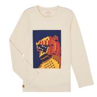 Oblečenie Chlapci Tričká s dlhým rukávom Catimini CR10064-17-C Biela