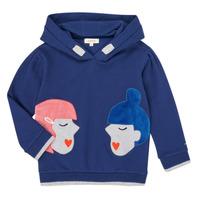 Oblečenie Dievčatá Mikiny Catimini CR15065-46-J Modrá