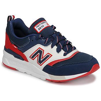 Topánky Chlapci Nízke tenisky New Balance 997 Modrá / Biela / Červená
