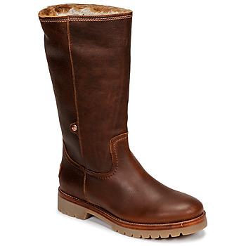 Topánky Ženy Polokozačky Panama Jack BAMBINA Hnedá