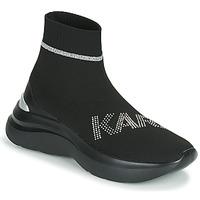 Topánky Ženy Členkové tenisky Karl Lagerfeld SKYLINE KARL RHINESTONE PULL ON BT Čierna