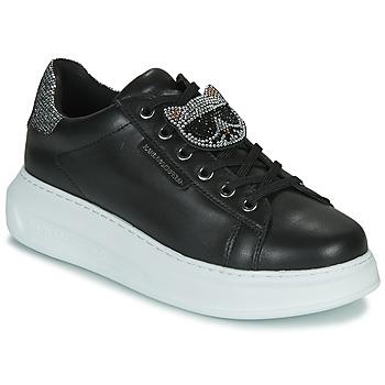 Topánky Ženy Nízke tenisky Karl Lagerfeld KAPRI IKONIC TWIN LO LACE Čierna
