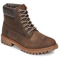 Topánky Muži Polokozačky Lumberjack RIVER Hnedá