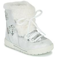 Topánky Dievčatá Snehule  Primigi RIDE 19 GTX Strieborná