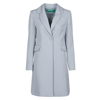 Oblečenie Ženy Kabáty Benetton 2AMH5K2R5 Šedá