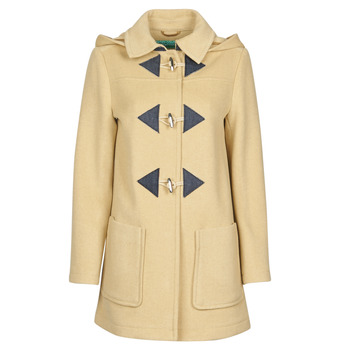 Oblečenie Ženy Kabáty Benetton 2BZP53655 Béžová
