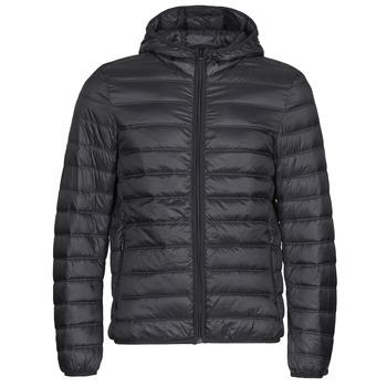 Oblečenie Muži Vyteplené bundy Benetton 2BA253EU8 Čierna