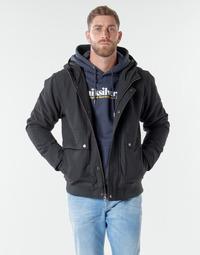 Oblečenie Muži Bundy  Quiksilver BROOKS M JCKT KVJ0 Čierna