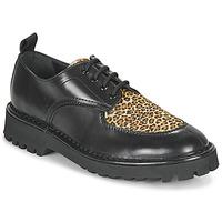 Topánky Ženy Derbie Kenzo K MOUNT Čierna / Leopard