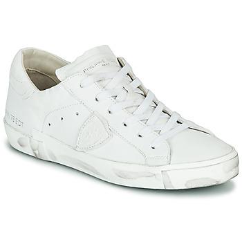Topánky Ženy Nízke tenisky Philippe Model PARIS X BASIC Biela