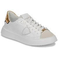 Topánky Ženy Nízke tenisky Philippe Model TEMPLE Biela