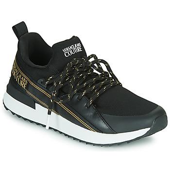 Topánky Ženy Nízke tenisky Versace Jeans Couture VZASG1 Čierna