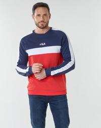 Oblečenie Muži Mikiny Fila CREW SWEATER Modrá / Biela / Červená