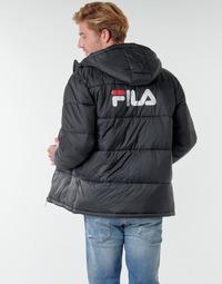 Oblečenie Muži Vyteplené bundy Fila SCOOTER PUFFER JACKET Čierna