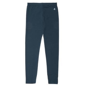 Oblečenie Dievčatá Legíny Petit Bateau FUNEO Námornícka modrá