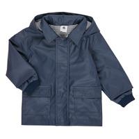 Oblečenie Deti Parky Petit Bateau FETE Námornícka modrá
