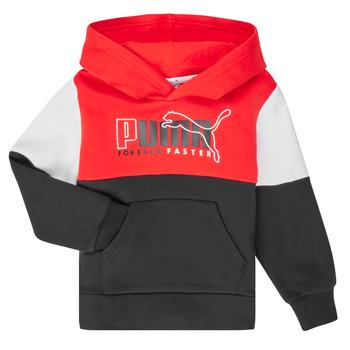 Oblečenie Chlapci Mikiny Puma ALPHA HOODY Viacfarebná