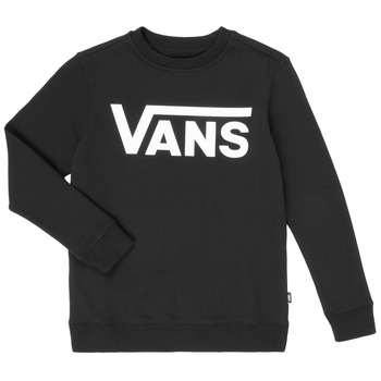 Oblečenie Chlapci Mikiny Vans VANS CLASSIC CREW Čierna