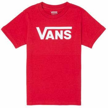 Oblečenie Chlapci Tričká s krátkym rukávom Vans BY VANS CLASSIC Červená